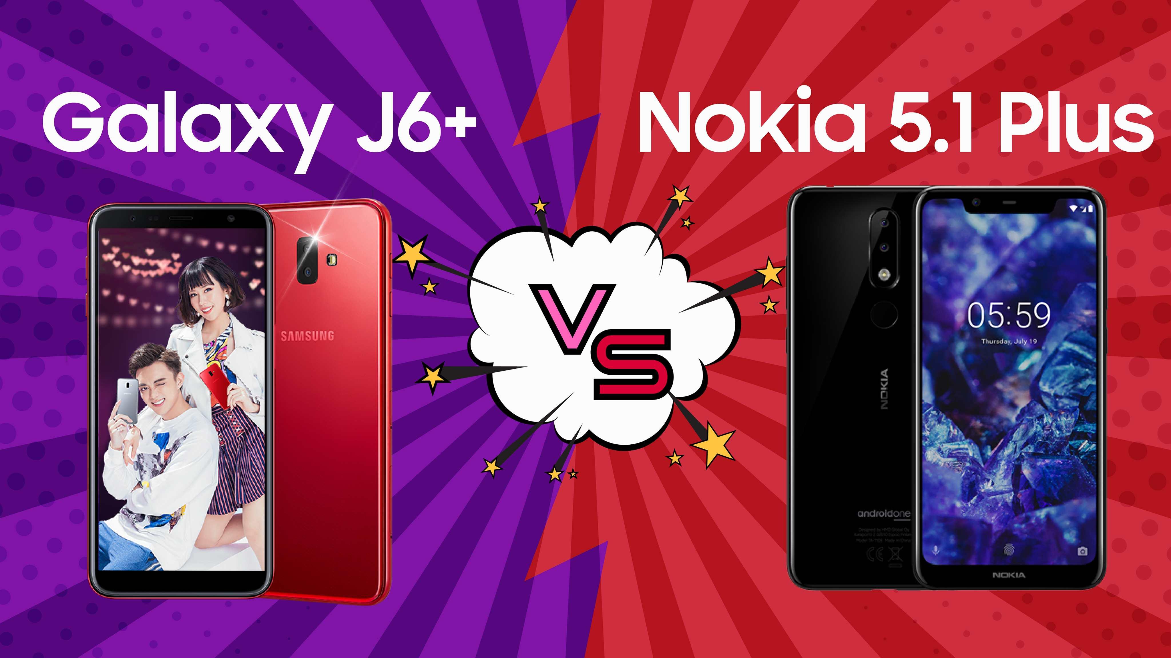 [Video] So sánh Galaxy J6+ và Nokia 5.1 Plus: Nên mua điện thoại nào trong phân khúc tầm trung?