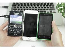 Cách chuyển danh bạ từ máy Blackberry sang các máy chạy Android và iPhone
