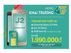 Mừng khai trương 4G, trọn bộ sản phẩm 4G ưu đãi lớn tại Viettel Store