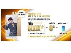 Viettel Store tung giá sốc cho Oppo F3 màu Gold, chỉ còn 6.490.000 đồng