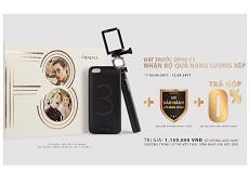 Oppo F3: Phiên bản thu gọn của Oppo F3 Plus chuẩn bị ra mắt Việt Nam cùng bộ quà hấp dẫn