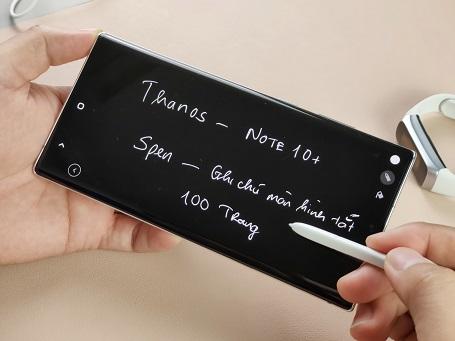 Chiếc Spen của Galaxy Note 10+ có gì đặc biệt?