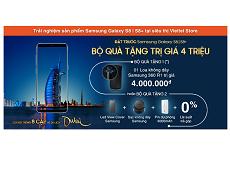 Trải nghiệm tận tay siêu phẩm Samsung Galaxy S8/S8 Plus, nhận quà trị giá 4 triệu khi đặt hàng
