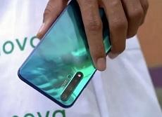 Hình ảnh thực tế Huawei Nova 5T lộ rõ với 4 camera ở mặt sau