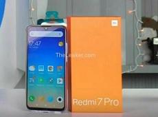 Bất ngờ lộ diện hình ảnh thực tế Xiaomi Redmi 7 Pro sở hữu màn hình giọt nước