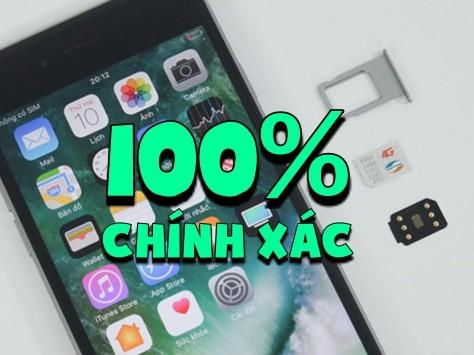 Apple bày cách phân biệt iPhone bản Quốc tế và bản Lock 100% chính xác