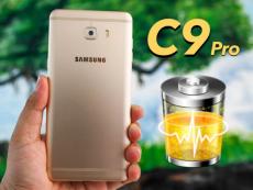 Đánh giá pin Galaxy C9 Pro: xứng danh