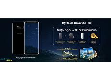 """Đặt mua Galaxy S8 càng sớm, cơ hội """"vi vu"""" Dubai trị giá 400.000.000 đồng càng chắc trong tay"""