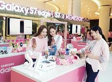Samsung Galaxy S7 Edge vàng hồng chính hãng đã có mặt tại Viettel Store