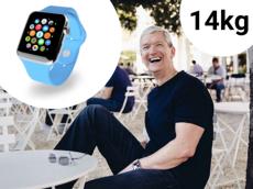 Quá béo, Tim Cook giảm hẳn 14kg nhờ đồng hồ thông minh Apple Watch