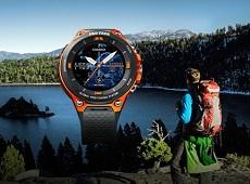Đồng hồ thông minh của Casio WSD-F20 ra mắt tại CES 2017