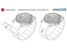 Bằng sáng chế đồng hồ tích hợp camera đầu tiên của LG được hé lộ