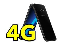 Lướt net siêu tốc với chuẩn 4G LTE Cat.4 trên Galaxy A3 2017