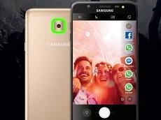 Tính năng mở mật khẩu bằng khuôn mặt được trang bị trên Galaxy J7 Max