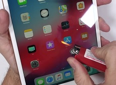 Kết quả bất ngờ với màn kiểm tra độ bền iPad mini 2019