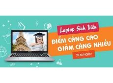 Khuyến mãi Laptop sinh viên tại Viettel Store: Học tốt ưu đãi lớn