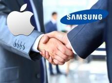 Apple bắt tay Samsung thực hiện