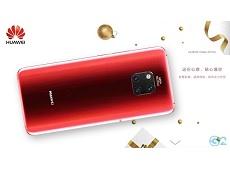 Thêm 2 màu sắc Huawei Mate 20 Pro mới là: Xanh Comet và Đỏ Fragrant