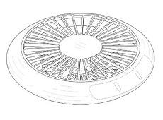 Máy bay không người lái của Samsung mang hình dáng giống UFO