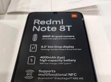 Xuất hiện hình ảnh mở hộp Redmi Note 8T trước ngày ra mắt