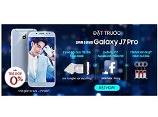 Bộ quà tặng kèm Galaxy J7 Pro hấp dẫn thế này ai chẳng muốn sở hữu