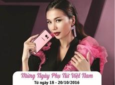 """Ưu đãi chưa từng có khi mua Galaxy S7 Edge màu """"hường"""" tại Viettel Store"""