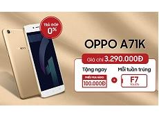 Cơ hội tháng 7, mua OPPO trúng OPPO F7 Youth