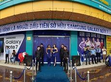 Ngày mở bán mua Note 7 giao lưu cùng Hoa hậu tại Viettel Store