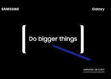 Cuối cùng thì Samsung cũng chịu gửi lời mời báo chí sự kiện ra mắt Galaxy Note 8