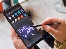 Bút S-Pen của Galaxy Note 8 có giúp đo nồng độ cồn?