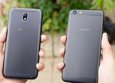 So sánh Galaxy J7 Pro và Oppo F3: Sự khác biệt trong dòng smartphone Android