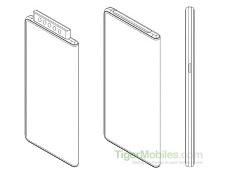 """Bất ngờ xuất hiện bằng sáng  chế smartphone gập của Xiaomi đi kèm cụm 5 camera """"thò thụt"""""""