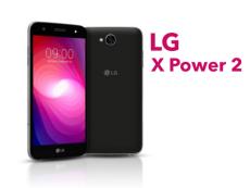 Smartphone pin khủng X Power 2 chính thức được LG giới thiệu