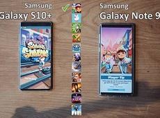 """So sánh hiệu năng Galaxy S10+ và Galaxy Note 9: """"Mèo nào thắng mỉu nào"""""""