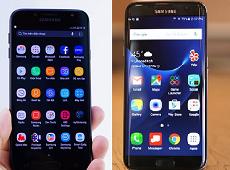 Không dễ lựa chọn khi so sánh J7 Pro và S7 Edge trên tất cả tiêu chí