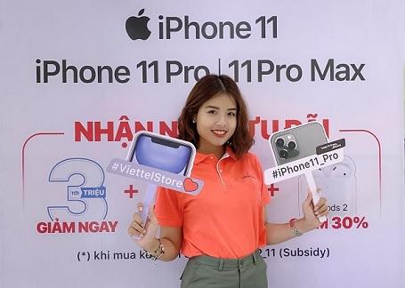 iFan hãy sẵn sàng, sự kiện trả hàng iPhone 11 tại Viettel Store chuẩn bị diễn ra rồi đây!!!!