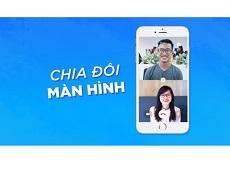 Tính năng Zalo mới: Chia đôi màn hình gọi video call cực thú vị