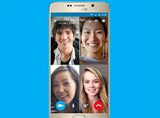 Skype giới thiệu chức năng gọi video nhóm trên điện thoại