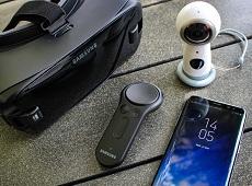 Trải nghiệm thực tế ảo mới lạ cùng Samsung Galaxy S8 và Gear VR 2017
