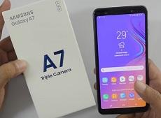 Trên tay Samsung Galaxy A7 2018: chiếc điện thoại sở hữu 3 camera độc đáo