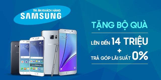 Tri ân khách hàng Samsung