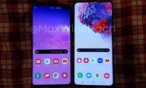 Bất ngờ xuất hiện video trên tay Galaxy S20 Plus với màn hình 120Hz và bị loại bỏ jack cắm 3.5mm