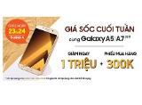 """Bộ đôi tuyệt phẩm Galaxy A5/A7 2017 Gold giảm """"sốc"""" 1 triệu đồng tại Viettel Store"""