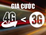 Thực hư việc giá gói cước 4G rẻ hơn cả 3G?