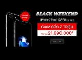 Mua iPhone 7 Plus Jet Black chính hãng rẻ hơn hẳn 2 triệu đồng chỉ có thể đến Viettel Store