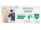 Oppo F3 chính thức giảm sốc 500.000đ tại Viettel Store, tặng thêm quà tặng giá trị và trả góp 0%