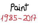 Sau hơn 30 năm tồn tại, phần mềm vẽ tranh Paint bị chính thức khai tử
