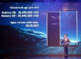 Samsung chính thức ra mắt Galaxy S8/S8+ tại thị trường Việt Nam