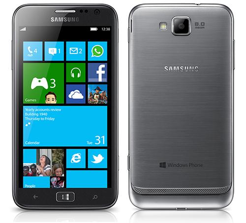 Samsung ra mắt ATIV S chạy Windows Phone 8, màn hình Super AMOLED 4,8 inch