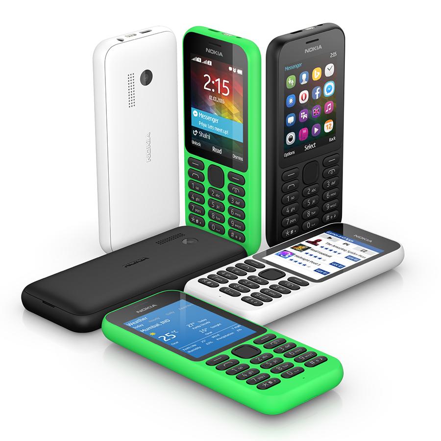 Microsoft ra mắt Nokia 215: điện thoại giá rẻ hỗ trợ nhiều dịch vụ Internet, giá 29$